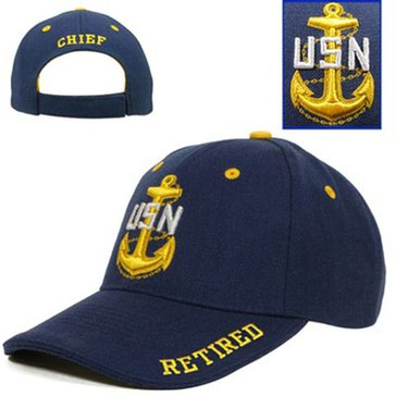 Fire For Effect USN Retired Chief Hat