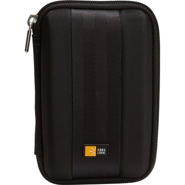 Case Logic Portable Hard Drive Case - Black (QDHC-101)
