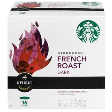 Starbucks French Roast K-Cup Pods, 16-Count