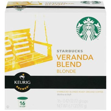 Starbucks Veranda Blend K-Cup Pods, 16-Count