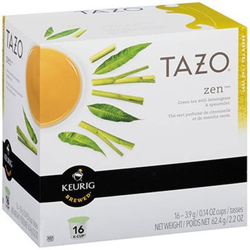 Tazo Zen Tea K-Cup Pods, 16-Count