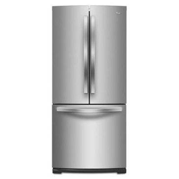Whirlpool 19.7-Cu.Ft. French Door Refrigerator, Stainless Steel (WRF560SMYM)