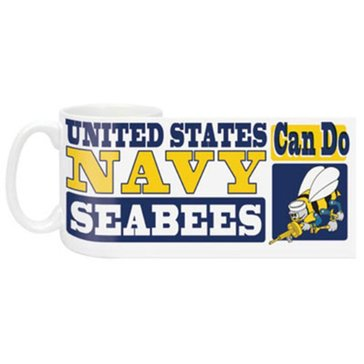 MCM USN Seabee Can Do Mug
