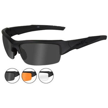 Wiley X Men's Valor Interchangeable Sunglasses 70mm