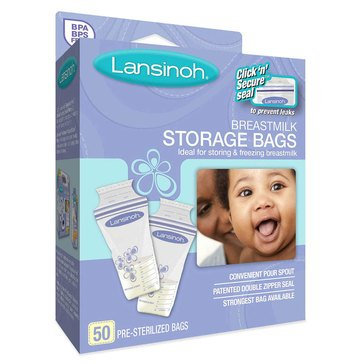 Lansinoh Breast Milk Storage Bags, 50_Count
