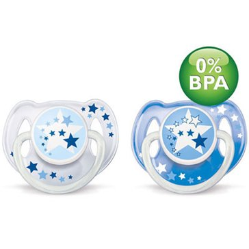 Avent Nighttime Toddler Pacifier, 2-Pack
