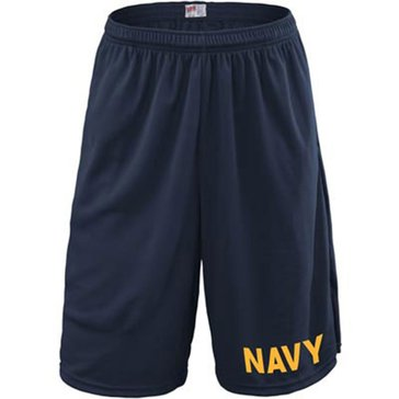 Soffe USN Mini Mesh Short With Pockets