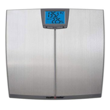Health-o-Meter Body Fat Scale, Stainless Steel