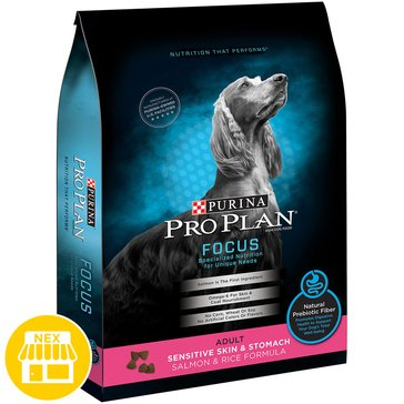 Pro Plan Focus Adult Sensitive Skin & Stomach Dry Dog Food, 16 lbs.