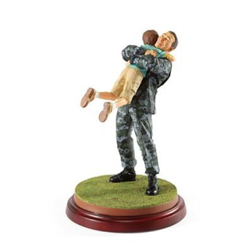 Thomas Blackshear Coming Home Navy Figurine (Ivory)