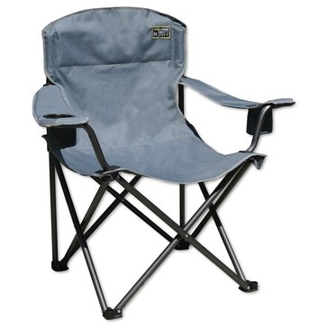 Bravo Heavy Duty Quik Chair - Grey