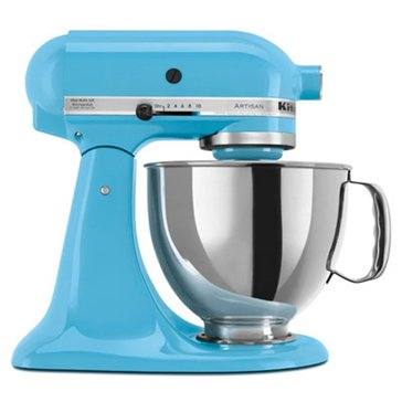 KitchenAid Artisan Series 5-Quart Tilt-Head Stand Mixer - Crystal Blue (KSM150PSCL)