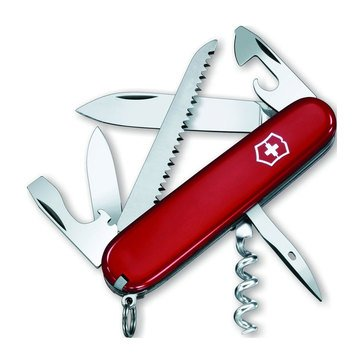 Swiss Army Camper Pocket Knife - Red