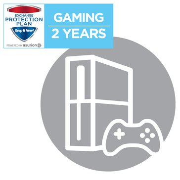 2-Year Gaming System Service Plan with Disc Protection $100-$199.99