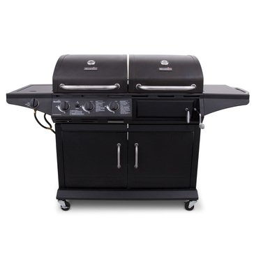Char-Broil Deluxe Gas & Charcoal Combo Grill w/ Sideburner