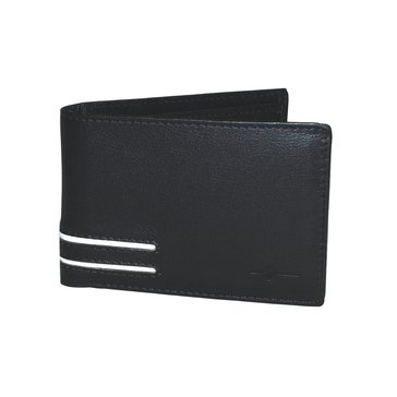 Buxton Luciano RFID Front Pocket SlimFold Wallet (Black)