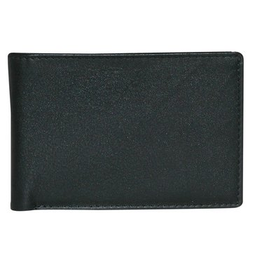 Buxton Houston RFID Front Pocket SlimFold Wallet (Black)