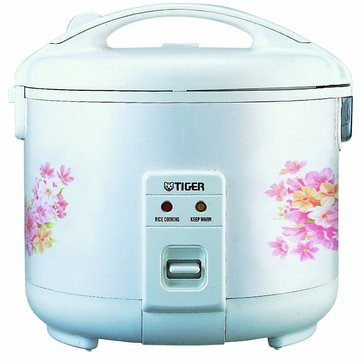Tiger 10-Cup Rice Cooker Floral (JNP-1800)