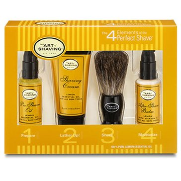The Art Of Shaving 4 Elements Mini Starter Kit Lemon