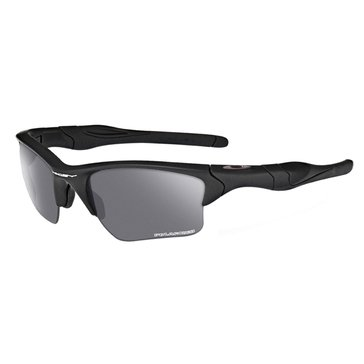 Oakley Standard Issue Men's Half Jacket 2.0 XL Polarized Sunglasses, Matte Black/Grey