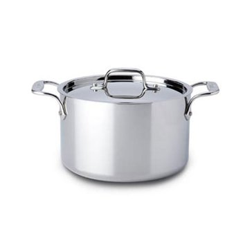 All-Clad Stainless Steel 4-Quart Casserole w/ Lid