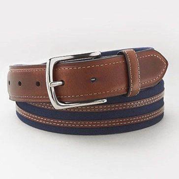 Izod Men's  35MM Washed Canvas Belt