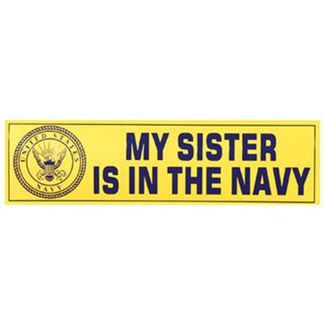 Mitchell Proffitt USN Sister Decal