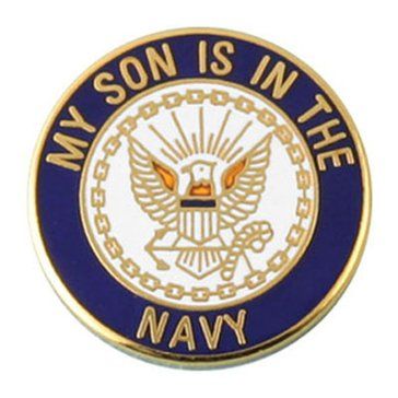 Mitchell Proffitt USN Son Lapel Pin
