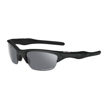 Oakley Standard Issue Men's Half Jacket 2.0 Polarized Sunglasses, Matte Black/Grey