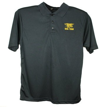 Eagle Crest Embroidered Seal Team Performance Polo