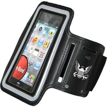 CS USN BLK NEOPRENE ARMBAND IPOD HOLDER_D
