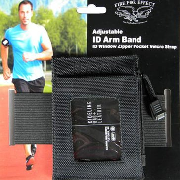 Carolina Sewn USN Black Armband ID Holder