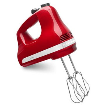 KitchenAid 5-Speed Ultra Power Hand Mixer - Empire Red (KHM512ER)