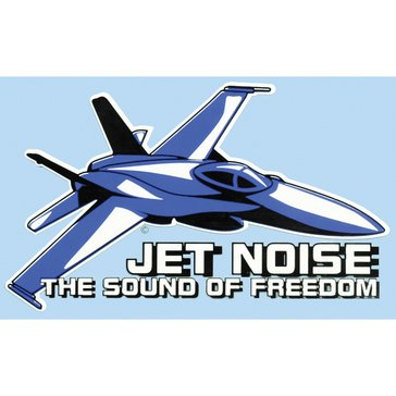 Mitchell Proffitt USN Jet Noise The Sound Of Freedom Decal