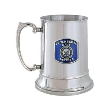 Sparta USN Retired Stainless Steel Tankard