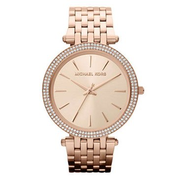 Michael Kors Women's Darci Watch MK3192, Rose Gold-Tone Stainless Steel Bracelet 39mm