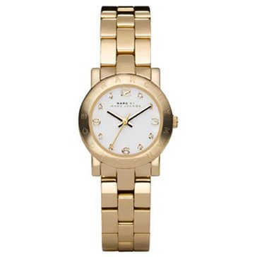 Marc by Marc Jacobs Women's Amy Mini Gold-Tone Stainless Steel Bracelet Watch 26mm