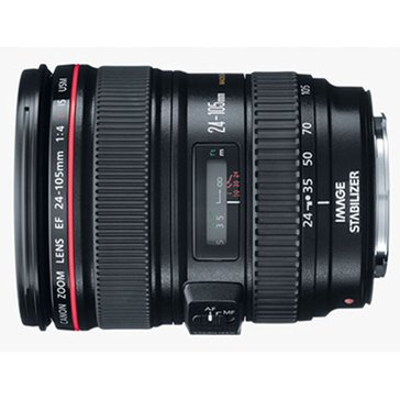Canon EF Lens 24-105mm / 4L IS USM Lens - 0344B002
