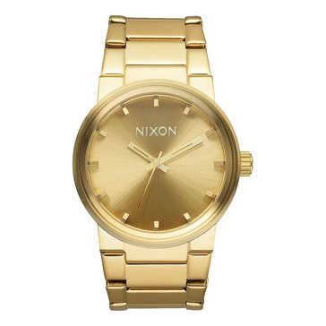Nixon Men's Cannon All Gold Watch, 40mm