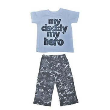 Trooper Toddler USN 2Pc Daddy Hero Set