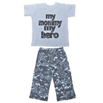 Trooper Toddler USN 2Pc Mommy Hero Set