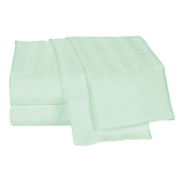Charter Club Damask Stripe 500 Thread-Count Sheet Set, Seaglass - King