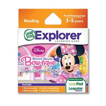 LeapFrog Learning Game: Minnie's Bow-Tique