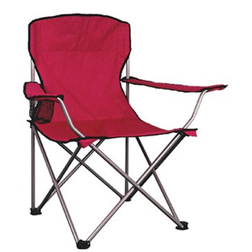Exxel Adult Camp Chair Red