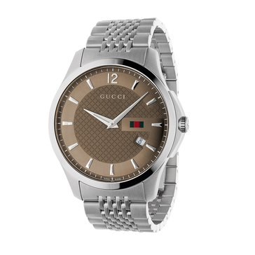 Gucci Men's G-Timeless Stainless Steel Bracelet Watch 40mm