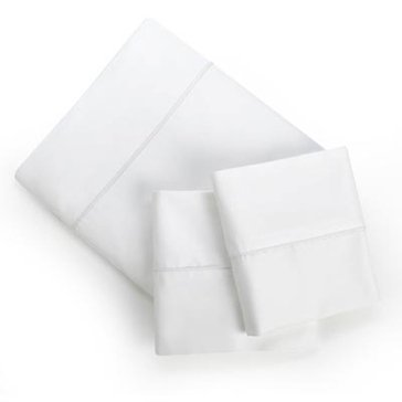 Gold Collection 300 Thread-Count Sheet Set, White - Cal. King