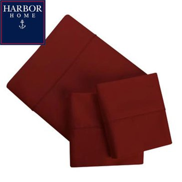 Gold Collection 300 Thread-Count Sheet Set, Cranberry - Queen