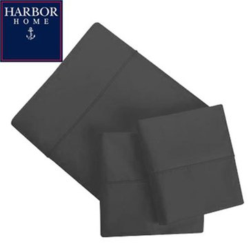 Gold Collection 300 Thread-Count Sheet Set, Charcoal Grey - Full