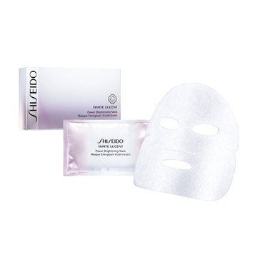 Shiseido White Lucent Power Brightening Mask, 6 Sheets