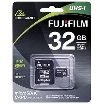 Fuji 32GB Micro SD UHS-1 Memory Card